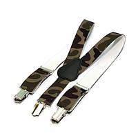 Детские Подтяжки Gofin suspenders Камуфляжные Pbd-15006, КОД: 389952