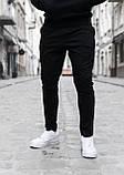 Чоловічі штани, завужені чорні / Туреччина, фото 2
