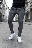 Чоловічі штани, завужені чорні / Туреччина, фото 5
