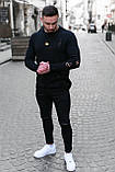 Мужской джемпер оверсайз рванный Белый / Турция, фото 6