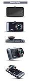 Видеорегистратор автомобильный DVR GT500 сенсорный экран, фото 3