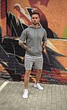 Худи летнее мужское, свободное - черный цвет/ есть 4 цвета, фото 9