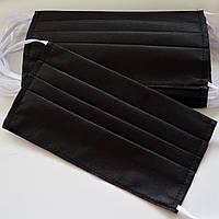 Маски защитные 50 шт Черные ZX0002, КОД: 1659854