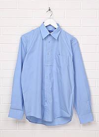 Мужская рубашка Classic Tige 43-44 Голубая СТ-001, КОД: 1470791