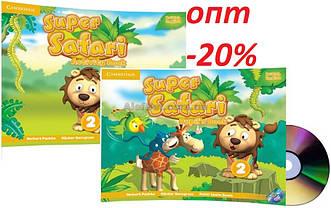 Английский язык / Super Safari/ Pupil's+Activity Book. Учебник+Тетрадь (комплект), 2/ Cambridge