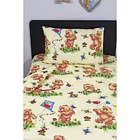 Детское постельное белье для младенцев Lotus ранфорс - BuBa желтый