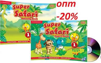 Английский язык / Super Safari/ Pupil's+Activity Book. Учебник+Тетрадь (комплект), 1/ Cambridge