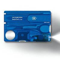 Набор Victorinox SwissCard Lite Синий 0.7322.T2, КОД: 988790