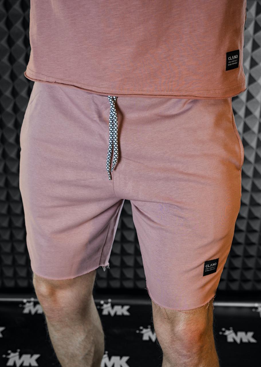 Шорты мужские - бежевый цвет на шнурке/2 цвета в наличии