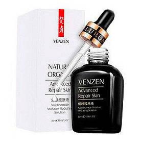 Зволожуюча сироватка і вирівнююча Venzen Nicotinamide Advanced Repair Skin 30 мл