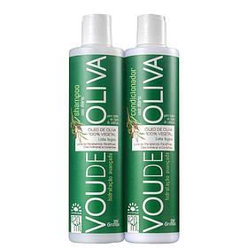 Набор для сухих волос Griffus Kit Shampoo+Condicionador Linha Vegana Vou de Oliva 420 ml 42900, КОД: 2408198