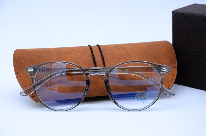 Компьютерные очки, женская оправа для очков 9358 фиолетовые