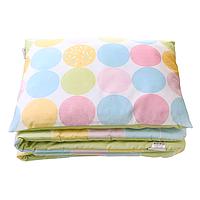 Cotton Living - Комплект в коляску Sweet Dots (Green Tea)