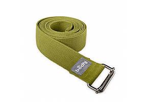 Ремень для йоги Bodhi Asana Belt 250 x 3.8 Оливковый 000001977, КОД: 960526