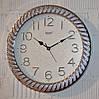 """Часы настенные """"Rikon RK38"""" gray silver white (40 см.)"""
