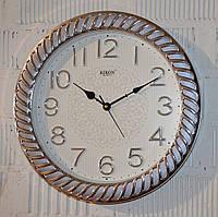 """Часы настенные """"Rikon RK38"""" gray silver white (40 см.), фото 1"""