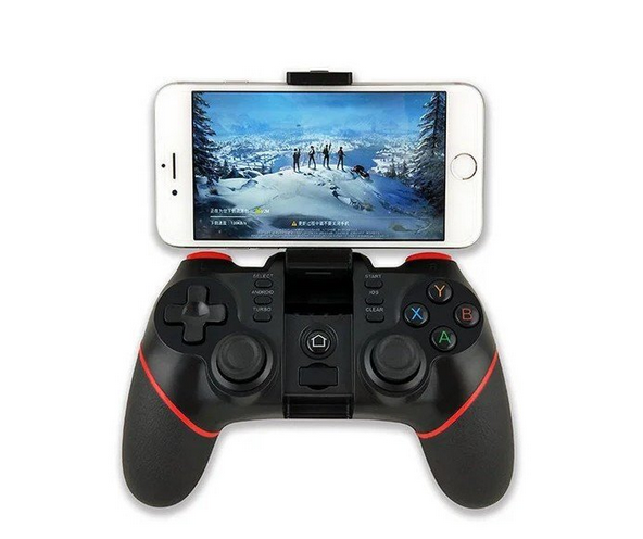Беспроводной джойстик для телефонов Terios T-6 400mAh Bluetooth USB   Игровой контроллер геймпад
