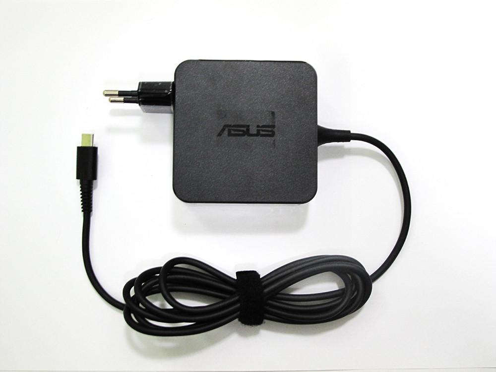Блок живлення, зарядний пристрій, Type-C, Asus, 45W, для ноутбука Asus T303UA
