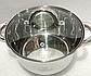 Каструля Bohmann ВН 1426 7,7 л з кришкою нержавіюча сталь, фото 4