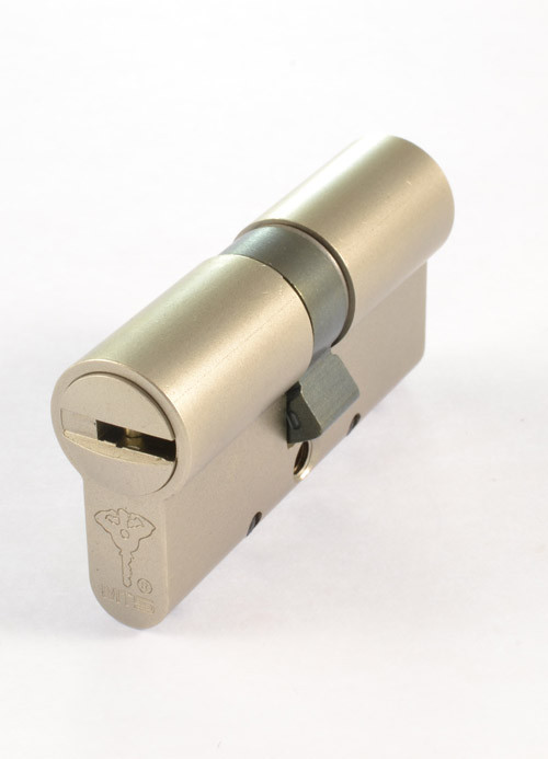 MUL-T-LOCK Цилиндр MT5+ 71 (40x31)Ni  NST Кл-кл Ник