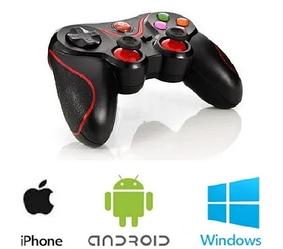 Джойстик V8 беспроводной игровой Bluetooth для телефона Android/IOS/PC/PS3 | Игровой контроллер геймпад