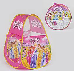 Палатка детская Small Toys HF 012 Принцессы Розовый 2-45178, КОД: 1249437