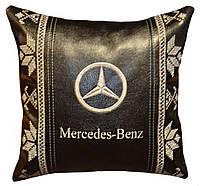 Подушка автомобильная с логотипом мерседес Mercedes