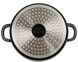 Кастрюля Bohmann ВН-7322 2,6 л керамическое покрытие с крышкой, фото 3