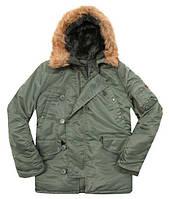 Куртка Alpha Industries Alpha N-3B Parka XXL Sage Green, КОД: 1313196