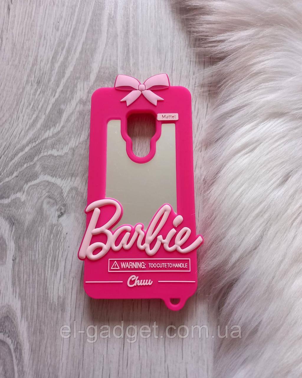 Чехол 3D на Huawei Mate 20 Барби Barbie розовый