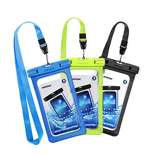 """Чехол водонепроницаемый Mpow Waterproof IPX8 для мобильных телефонов до 6.7"""""""