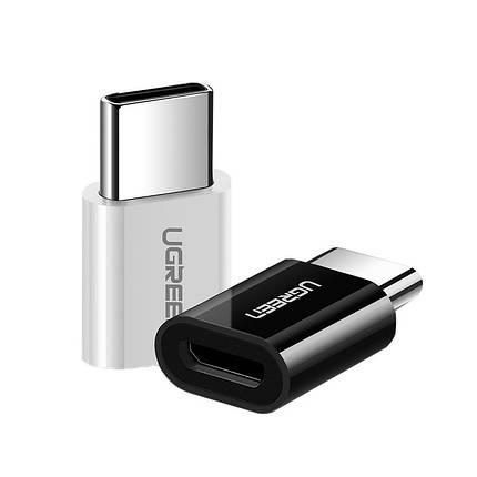 Ugreen переходник-адаптер microUSB к USB Type-C US157, фото 2