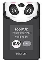 Тканевая маска для лица с экстрактом бамбука The Saem ZOO PARK Water Moisturizing Panda 25 мл 880, КОД: