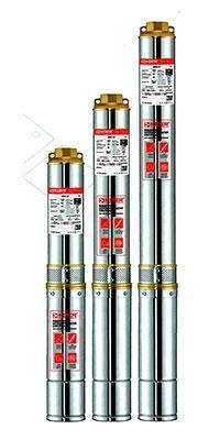 Скважинный центробежный насос 4 SDM 2/7 KOER, Hmax 50м, Qmax 55л/мин, P 250Вт (1м кабеля), фото 2