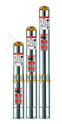 Скважинный центробежный насос 4 SDM 2/15+50м KOER, Hmax 106м, Qmax 55л/мин, P 750Вт (50м кабеля)