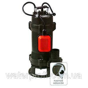 Дренажно-фекальный насос WQD 20-15-1.5 FREZA KOER, Hmax 15м, Qmax 330л/мин, P 1,5кВт