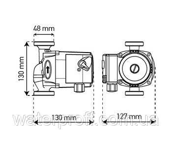 Циркуляционный насос KP.GRS-25/4-130 KOER, фото 2