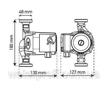 Циркуляционный насос KP.GRS-25/4-180 KOER, фото 2
