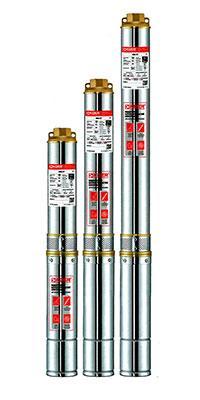 Відцентровий насос свердловинний 4 SDM 4/6+20м KOER, Hmax 44м, Qmax 100л/хв, P 370Вт (20м кабелю)
