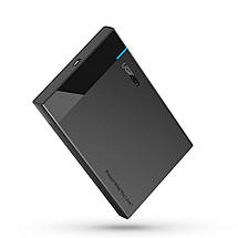 "Внешний корпус для жесткого диска Ugreen (HDD/SSD карман) SATA 2.5"" Type C к USB 3.1 (Черный), фото 2"