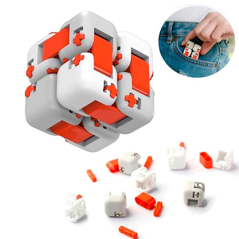 Іграшка Конструктор-антистрес Xiaomi Bunny Fingertips Blocks ZJM01IQI (іграшка, кубик, конструктор)