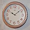 """Часы настенные """"Rikon RK38"""" rose gold silver white (40 см.)"""