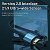 HDMI кабель Baseus CAKSX-A0G с поддержкой FullHD/4K video resolution (Черный, 0.5м), фото 4