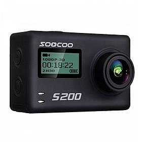 Экстремальная экшн-камера SOOCOO S200 2.45 Black 3931-11276, КОД: 1613071