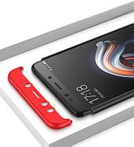 Матовый чехол GKK Slim Armor для телефона Xiaomi Mix 2S (Черный), фото 3