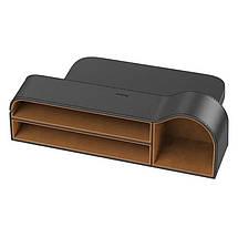 Автомобильный органайзер Baseus Elegant Car Storage Box CRCWH-01 (Черный), фото 2