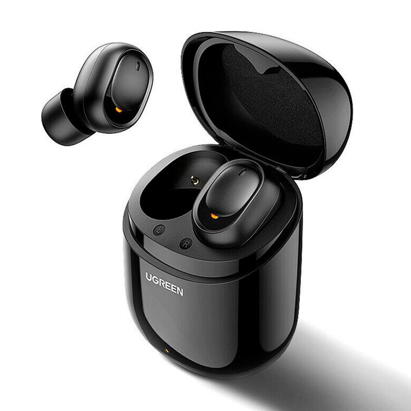 Беспроводные Bluetooth наушники 5.0 UGREEN TWS CM338 (Черные)