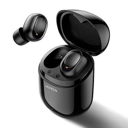 Беспроводные Bluetooth наушники 5.0 UGREEN TWS CM338 (Черные), фото 2