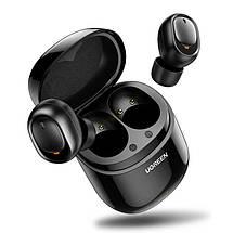 Беспроводные Bluetooth наушники 5.0 UGREEN TWS CM338 (Черные), фото 3