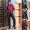 Жіночий зимовий лижний костюм на синтепоні 15484